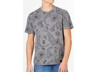 Camiseta Masculina Hering 4exq 1den Grafite - Tamanho Médio
