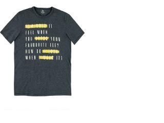 Camiseta Masculina Hering 4eeq 1aen Grafite - Tamanho Médio