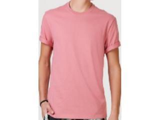 Camiseta Masculina Hering 0227 Khren Rosa - Tamanho Médio