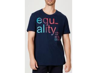 Camiseta Masculina Hering 4f1g Axten Marinho - Tamanho Médio