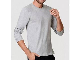 Camiseta Masculina Hering N204 M2h07s Mescla - Tamanho Médio
