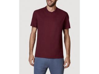 Camiseta Masculina Hering 0227 Rwren Bordo - Tamanho Médio