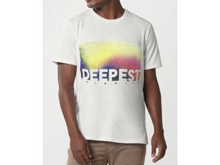 Camiseta Masculina Hering 4f87 1gen Off White - Tamanho Médio