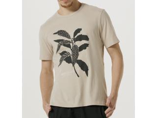 Camiseta Masculina Hering 4fa3 Hjmen Bege - Tamanho Médio