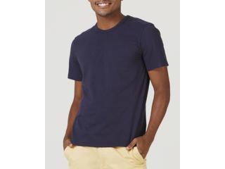 Camiseta Masculina Hering 0299 Ax7en Marinho - Tamanho Médio