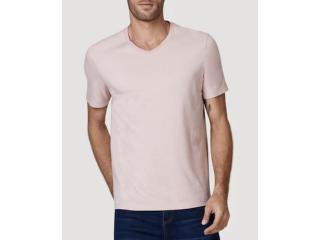 Camiseta Masculina Hering 022b Krqen Rosa Claro - Tamanho Médio