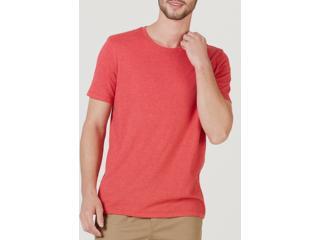 Camiseta Masculina Hering 0201 2ben Vermelho - Tamanho Médio