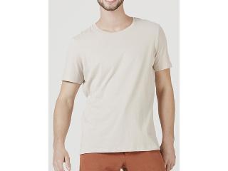 Camiseta Masculina Hering 0201 Hjmen Bege - Tamanho Médio