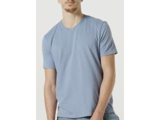 Camiseta Masculina Hering 022b Az3en Azul - Tamanho Médio
