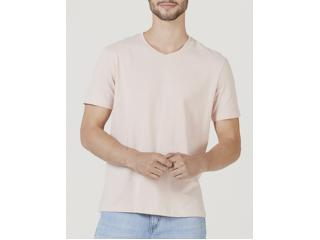 Camiseta Masculina Hering 022b Kmmen Rosa Claro - Tamanho Médio