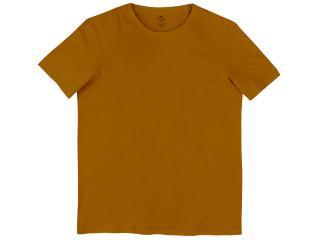 Camiseta Masculina Hering 0201 Yufen Camel - Tamanho Médio