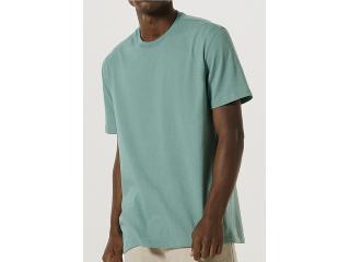 Camiseta Masculina Hering 0227 Wg9en Verde - Tamanho Médio