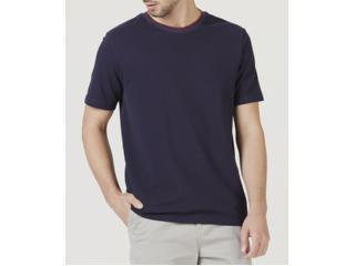 Camiseta Masculina Hering 4f46 Ax7en Marinho - Tamanho Médio