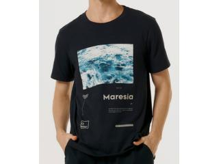Camiseta Masculina Hering 4f78 Ax7en Marinho - Tamanho Médio