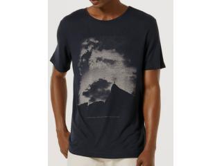 Camiseta Masculina Hering 4f7d Ax7en Marinho - Tamanho Médio