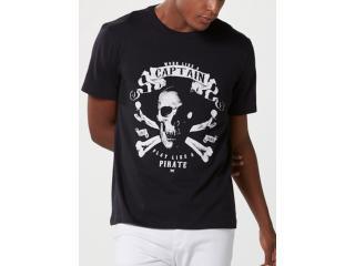 Camiseta Masculina Hering 4f87 1cen  Preto - Tamanho Médio