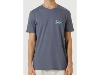 Camiseta Masculina Hering 4fdp Az2en Marinho - Tamanho Médio