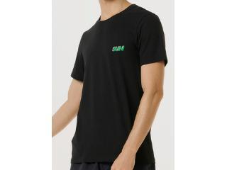Camiseta Masculina Hering 4fdp N10en Preto - Tamanho Médio