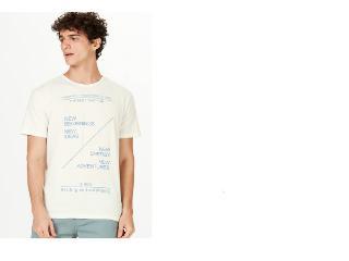 Camiseta Masculina Hering 4emk 1qen Rose - Tamanho Médio