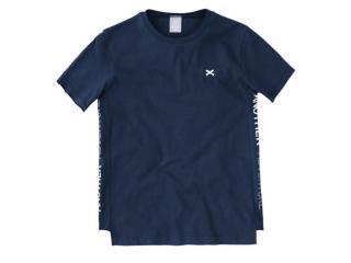 Camiseta Masc Infantil Hering Kids 5cx4 Axten Marinho - Tamanho Médio