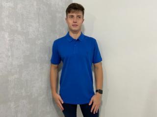 Camiseta Masculina Individual 08.75.0704 Azul Médio - Tamanho Médio