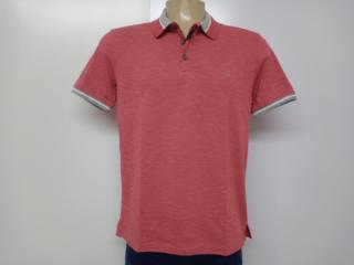 Camiseta Masculina Individual 08.75.0910.13 Vermelho - Tamanho Médio