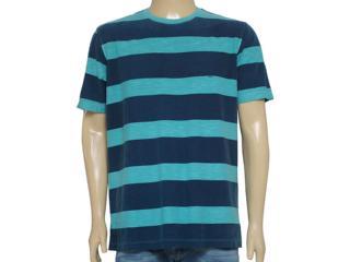 Camiseta Masculina Individual 304.22222.155 Verde/marinho - Tamanho Médio