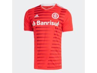 Camiseta Masculina Gl0122 Inter i Vermelho - Tamanho Médio