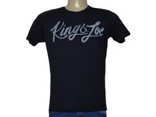 Camiseta Masculina King & Joe Ca09026 Preto - Tamanho Médio