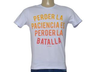 Camiseta Masculina King & Joe Ca09005 Branco - Tamanho Médio