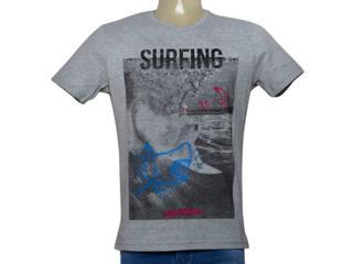 Camiseta Masculina King & Joe Ca09004 Mescla - Tamanho Médio