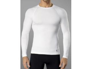 Camiseta Masculina Lupo 70045 001 1110 Branco - Tamanho Médio