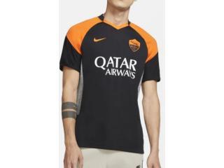 Camiseta Masculina Nike Ck7828-011 Roma Preto/laranja - Tamanho Médio