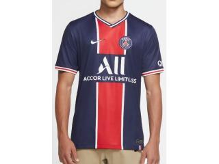 Camiseta Masculina Nike Cd4242-411 Paris Saint-germain Marinho/vermelho - Tamanho Médio