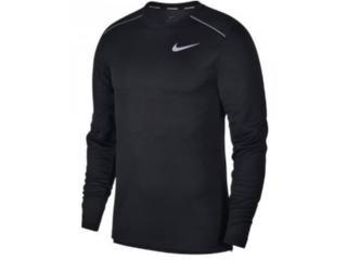Camiseta Masculina Nike Aj7568-010 Dri-fit Miler Preto - Tamanho Médio