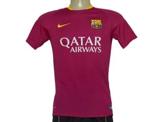 Camiseta Masculina Nike 686600-560 Barcelona Flash  Vinho - Tamanho Médio