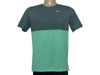 Camiseta Masculina Nike 644396-387 Racer ss Verde - Tamanho Médio