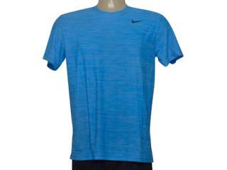 Camiseta Masculina Nike 832864-484 m nk Brthe ss Top Azul - Tamanho Médio