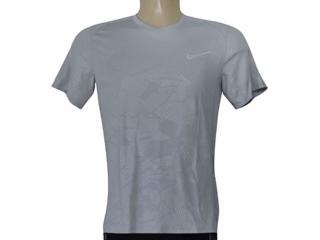 Camiseta Masculina Nike 858157-012 m nk Dry Miler ss Cinza - Tamanho Médio