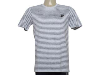 Camiseta Masculina Nike 927456-051 m Sportswear Off White Listrado - Tamanho Médio