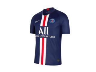 Camiseta Masculina Nike Aj5553-411 Paris Saint Germain Stadium 2019 Marinho - Tamanho Médio