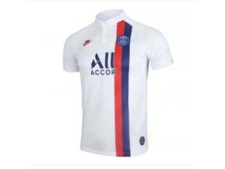 Camiseta Masculina Nike At0033-102 Paris Saint Germain Stadium 2019/branco/vermelho - Tamanho Médio