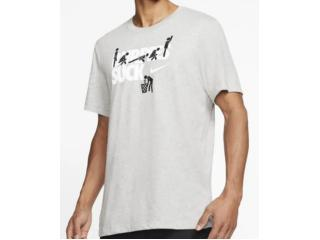 Camiseta Masculina Nike Ck4284-063 Dri-fit Cinza - Tamanho Médio
