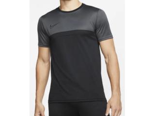 Camiseta Masculina Nike Bv6926-010 Dry-fit Academy Preto/chumbo - Tamanho Médio