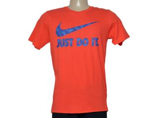 Camiseta Masculina Nike 779708-696 Tee-ultra Jdi  Laranja - Tamanho Médio