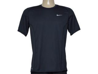 Camiseta Masculina Nike 683527-010 df Miler  Preto - Tamanho Médio