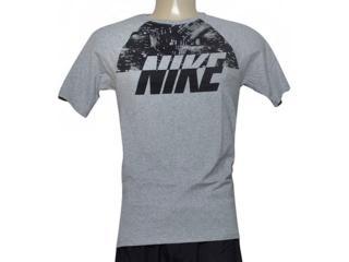 Camiseta Masculina Nike 805249-063 Sportswear City Mescla - Tamanho Médio