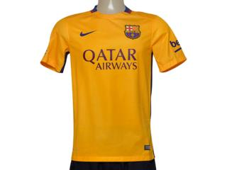 Camiseta Masculina Nike 658785-740 Fcb Away Torcedor  Amarelo - Tamanho Médio