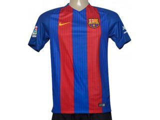 Camiseta Masculina Nike 776850-481 Mens fc Barcelona Stadium Top  Azul/vermelho - Tamanho Médio