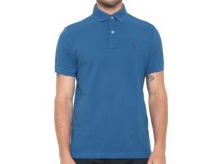 Camiseta Masculina Tommy Th78d1788 Azul - Tamanho Médio